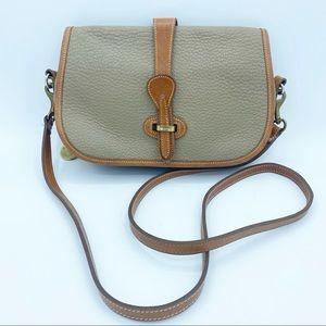 Dooney & Bourke Vintage Equestrian Shoulder Bag